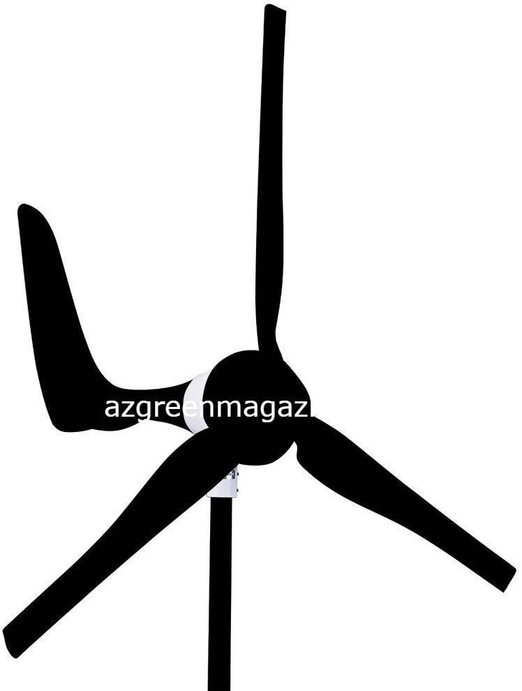 Automaxx: 1500W, 24V, 60A Wind Turbine Generator kit