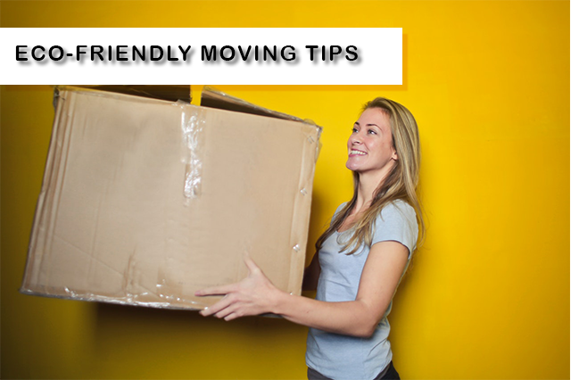 Eco-friendly moving tips