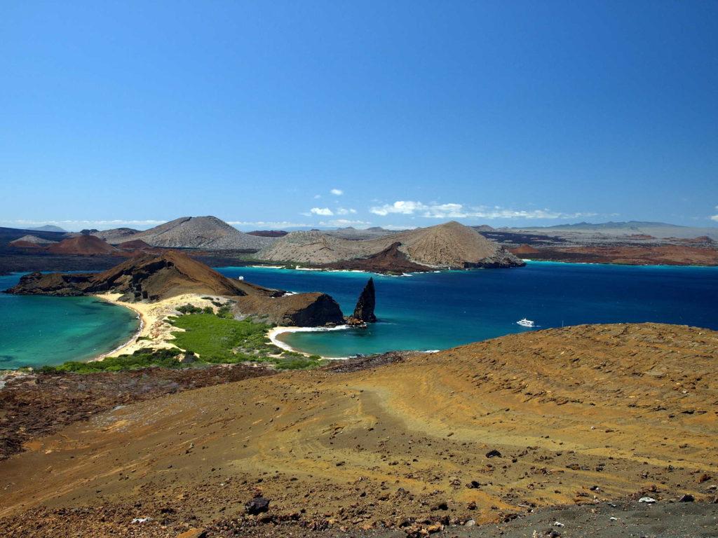 Galapagos National Park Bartolome island