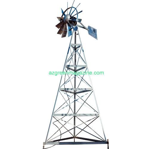 Outdoor-Water-Solutions-20Ft-Garden-Windmill