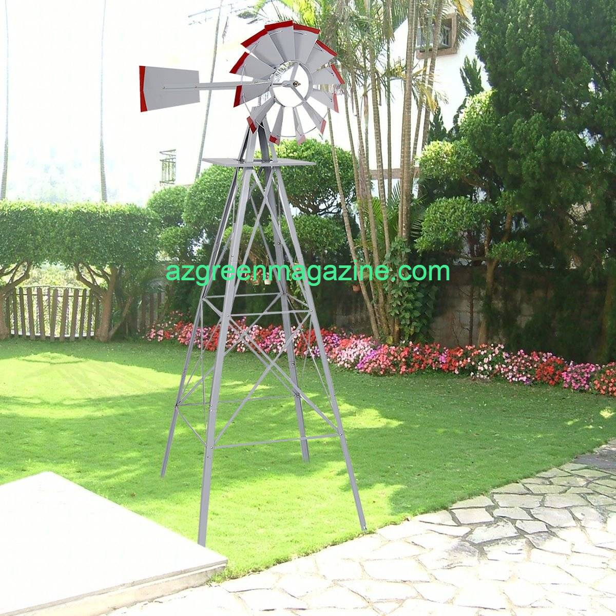 Happy-Home-Products-Yard-Windmill