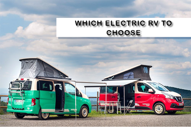 Which electric RV to choose