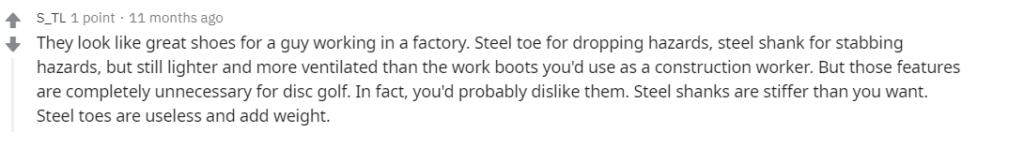 Indestructible Shoes Reddit Review #2