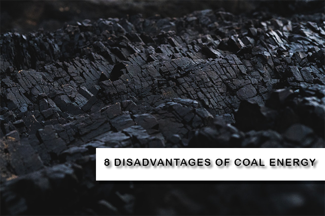 Disadvantages of coal energy
