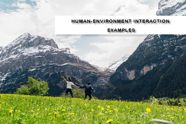 Human-Environment Interaction Examples