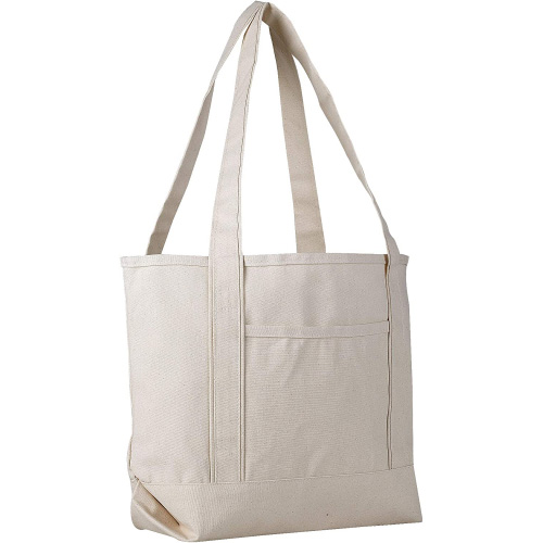 Heavy Duty Canvas Deluxe Tote Bags