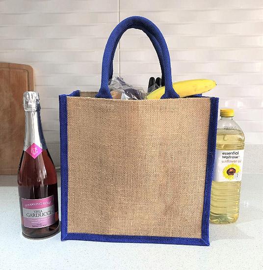 Natural Burlap Bag