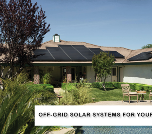 off grid solar systems for house