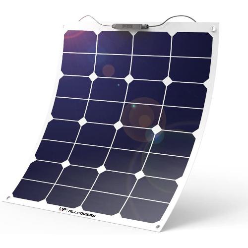 ALLPOWERS 50W Monocrystalline Flexible Solar Panel