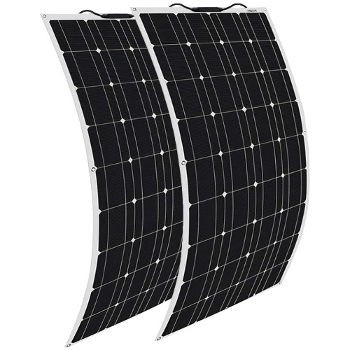 XINPUGUANG-Semi-Flexible-200W-Solar-Panel-Cell-for-RV
