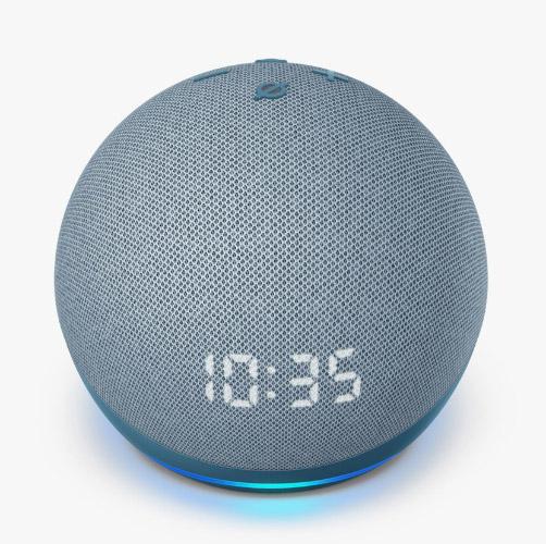 Amazon Echo Dot (4th Gen) – best smart speaker for tiny home