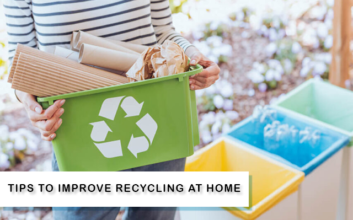 Tips to improve recycling at home